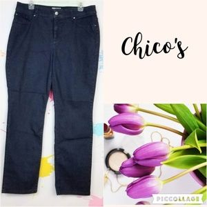 CHICO'S Fabulously Slimming Jeans Women's 2 (L-12)